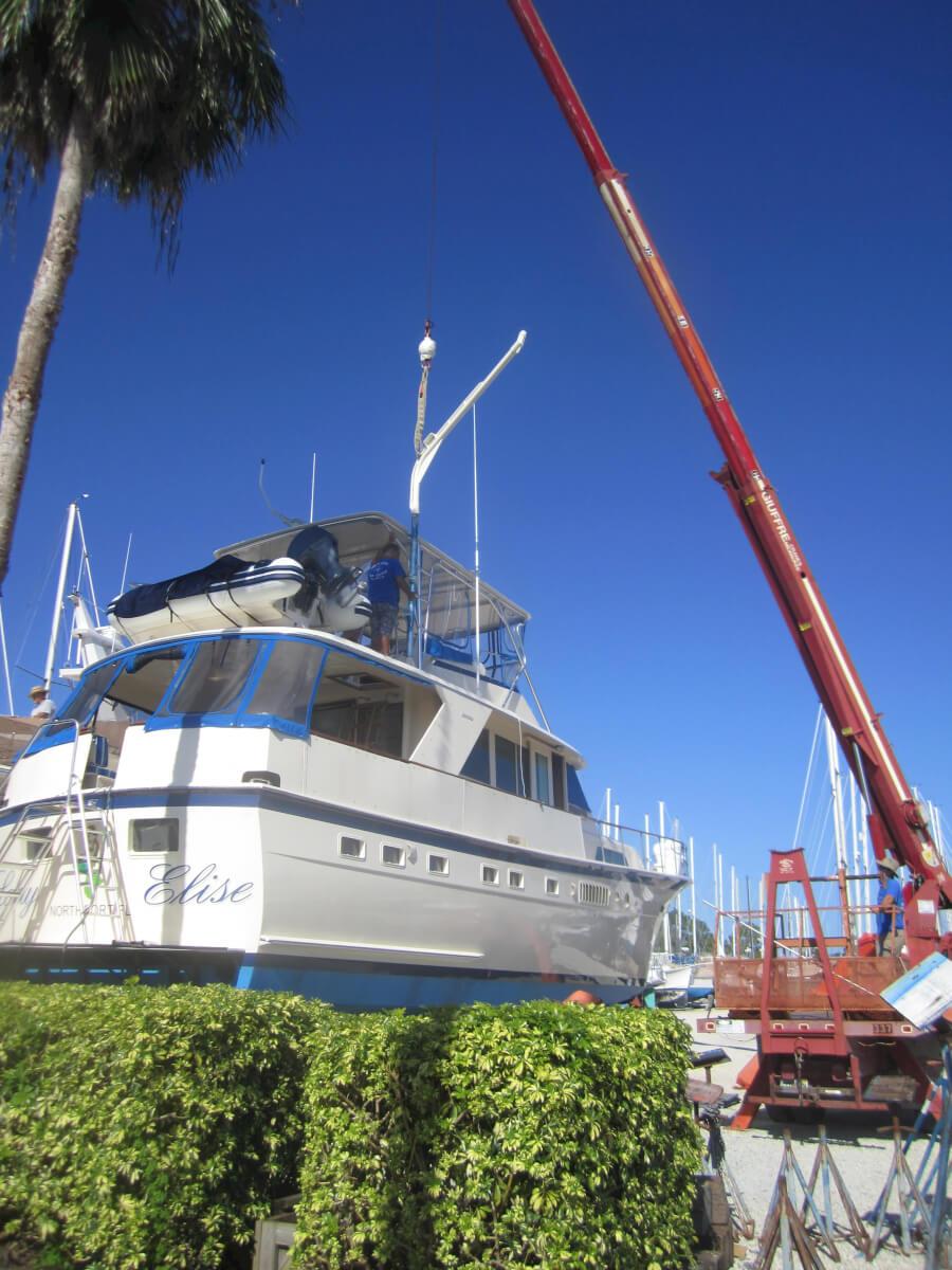 Charlotte Harbor Boat Storage In Placida Florida